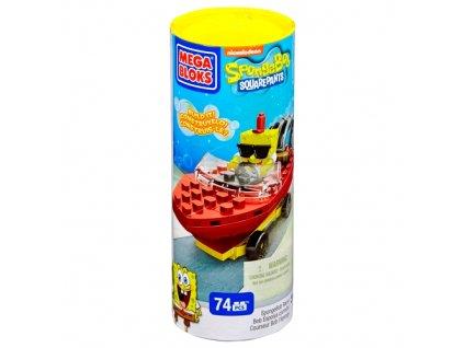Mega Bloks - Stavebnice Sponge Bob závodník (6163) SpangeBob Racer