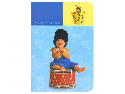 Anne Geddes Sešit A4 linkovaný modrý