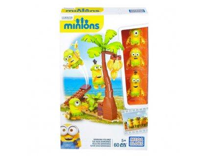 Mega Bloks Mimoni Banana Island CNC55 Mimoni s doplňky