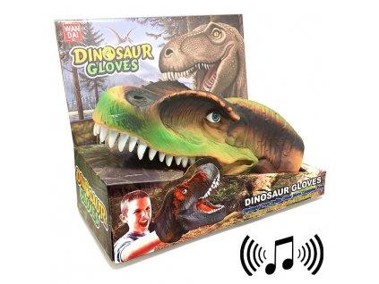 Wan Dai Dinosaurus Návlek, maňásek (4316) Velociraptor