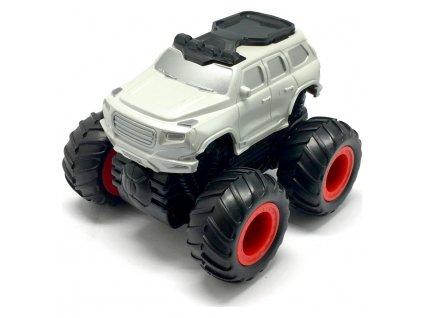 Small Monster 4x4 SUV auto na setrvačník 9cm bílé