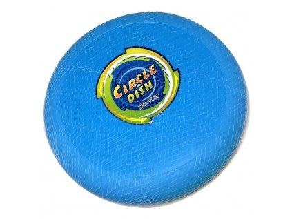 Frisbee házecí disk (4217) 23 cm modrý