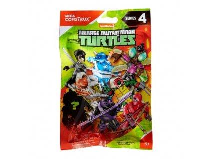 Mega Bloks TMNT Želvy Ninja akční figurky v sáčku - 4.série