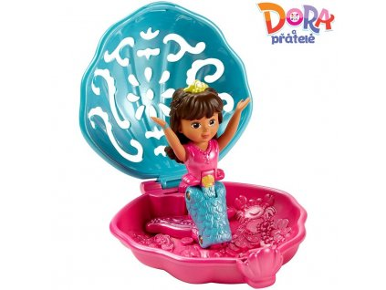 Fisher Price Dora a přátelé Potápěčka a mořská panna Dora
