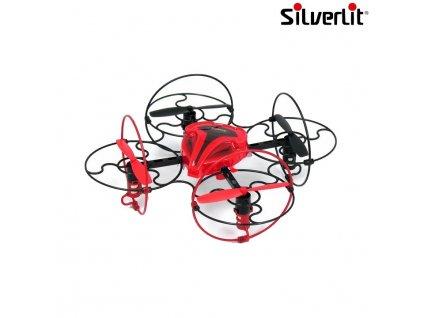 Silverlit Power Air Space Comet quadcopter - červená