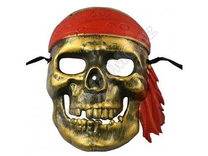 CDMC Maska Piráti z Karibiku zlatá