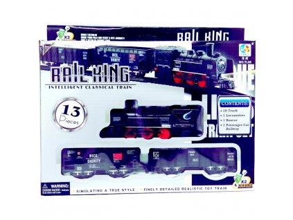 Vláček - Rail King Se světlem Malý A