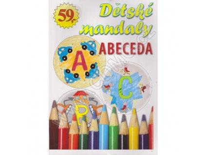 Dětské mandaly ABECEDA