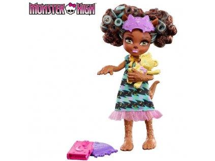 Mattel Monster High Rodinná panenka Clawdeen Wolf
