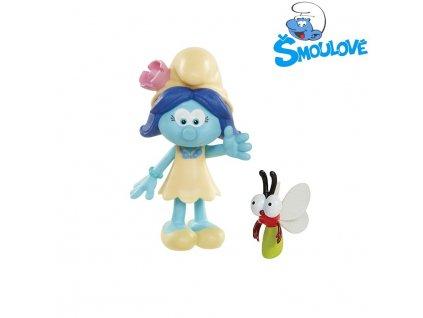 Šmoulové - figurka Smurfblossom a Sunny