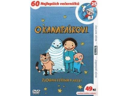 O Kanafáskovi DVD papírový obal