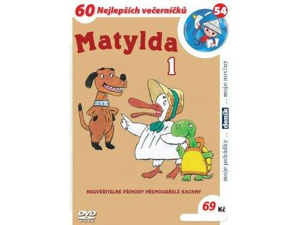 Matylda 1 DVD papírový obal