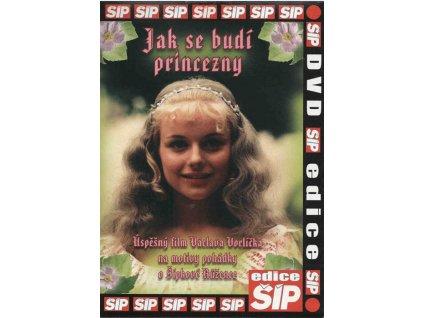 Jak se budí princezny DVD papírový obal