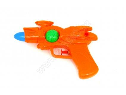 Vodní pistole oranžová 17 cm