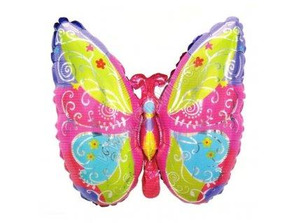 Nafukovací balónek Motýl 63 cm