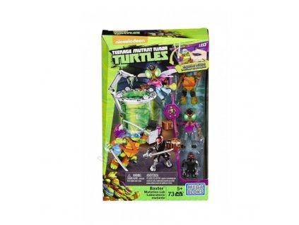 TMNT želvy Ninja Mutační laboratoř 73 dílků