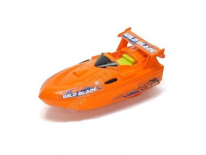 Dickie člun Sea Rider 15cm na natažení oranžový
