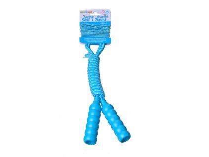 Maro toys švihadlo se skákací gumou modré 213 cm