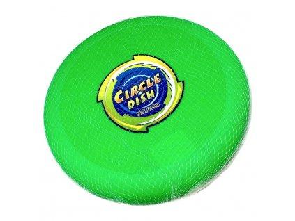 Frisbee házecí disk (4217) 23 cm zelený