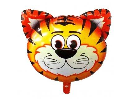 40414 nafukovaci balonek hlava tygra 55 cm