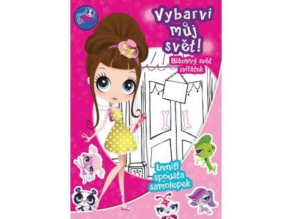 Littlest Pet Shop Vybarvi můj svět! Bláznivý svět zvířátek