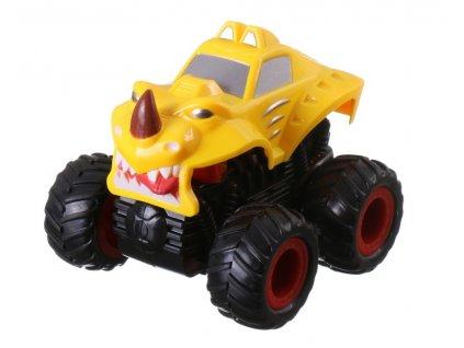 40624 monster 4x4 suv auto na setrvacnik 9 5 cm zlute a 1529