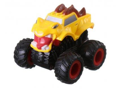 40627 monster 4x4 suv auto na setrvacnik 9 5 cm zlute b 1529