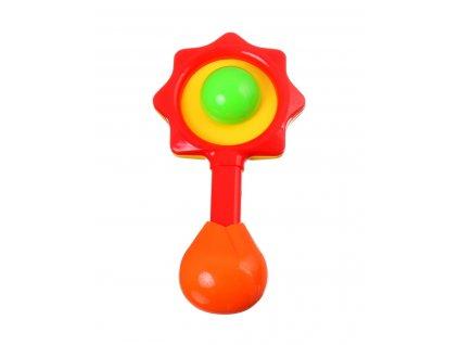 41161 baby toys chrastitko kyticka a