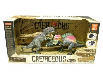 Dinosaurus Cretaceous - sada 4ks figurek