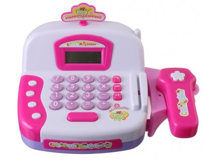 41573 2 elektronicka pokladna ruzova