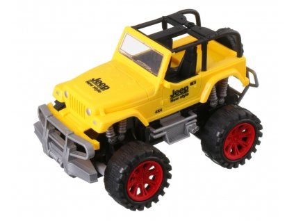 41632 1 rc model auto jeep cross country champion 1 22 zlute