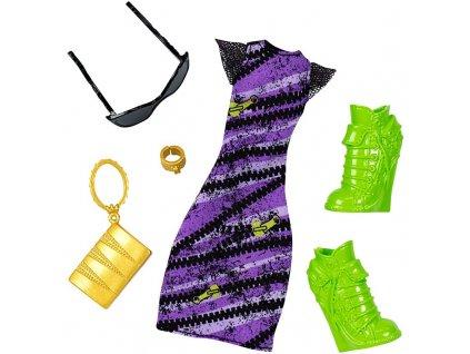 šaty fialové