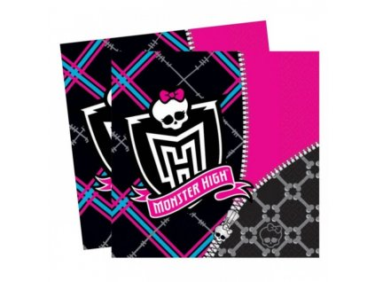 7001861 4009775425144 amscan monster high napkins 33cm x 33cm rockaparty 1 800x800
