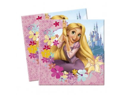 7001966 5201184056028 decorata party tangled rapunzel napkins 33cm x 33cm rockaparty 1 800x800