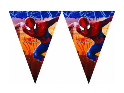 42423 vlajeckova girlanda spiderman 2 3 m