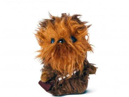 46128 2 star wars vii mini mluvici plysova hracka chewbacca 10 cm