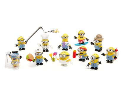 megabloks buildable minions blind packs series vi dkw82 142261
