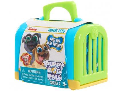 Puppy Dog Pals Cestovní mazlíčci (0767) (Barva přepravky Červená)