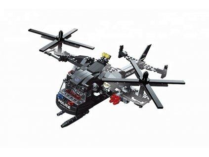 Wholesale 366Pcs Abs Cool Black Helicopter Interlockingljuhgztfrdtrtzu