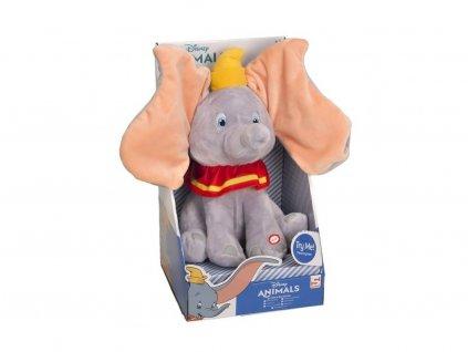 Disney Animals plyšová hračka se zvuky Dumbo 29 cm
