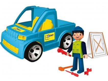 30188 igracek remeslnik s autem a doplnky 0174