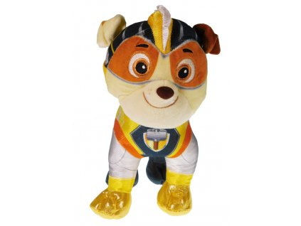 30746 plysova figurka tlapkova patrola super mighty pups rubble 6558