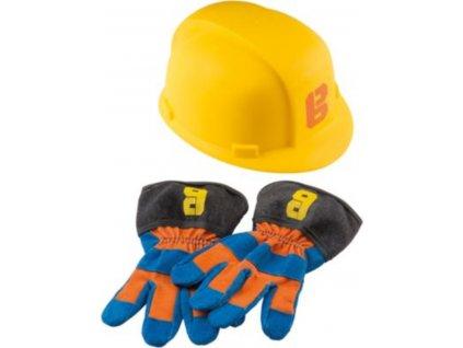 4445114 Bob der Baumeister Arbeitshandschuhe Helm original