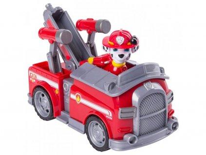 Tlapkova patrola hasicske auto s figurkou Marshall