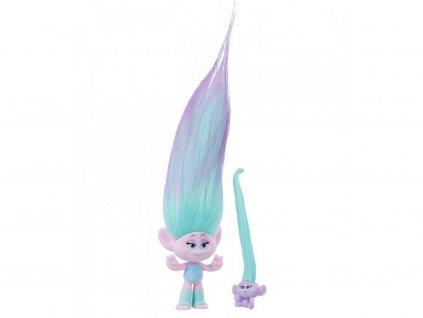 Trollove figurka Satin a trolli miminko 12 cm (1)