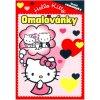 Hello Kitty omalovánky
