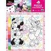 21687 minnie omalovankove puzzle s voskovkami 8276