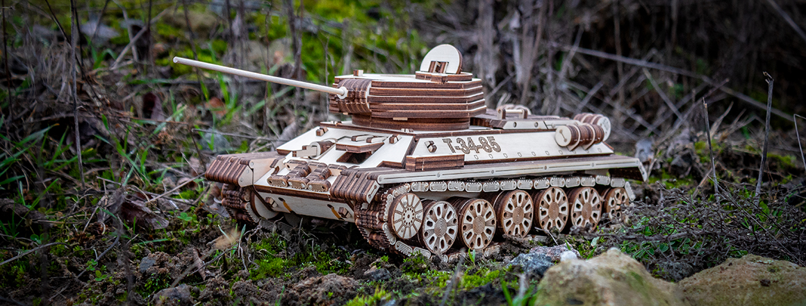 Tank T-34-85 EWA