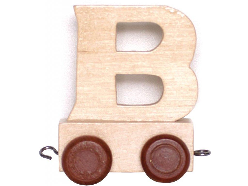 Písmenkový vláček B