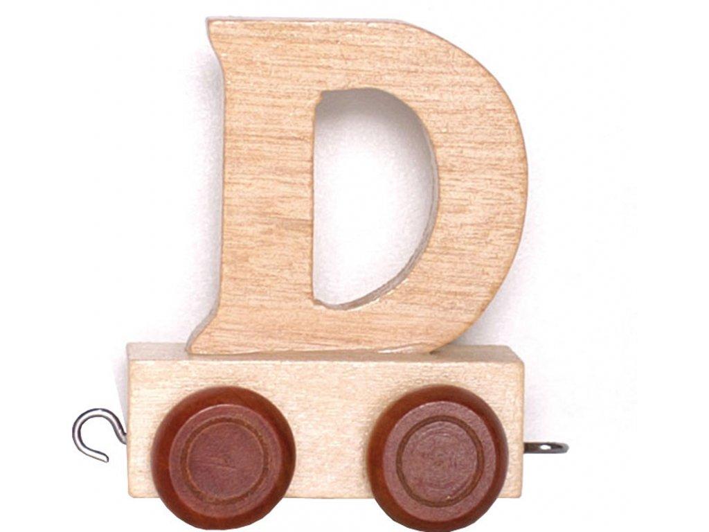 Písmenkový vláček D